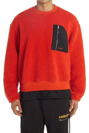 AMBUSH Men's Wool Blend Fleece Sweatshirt