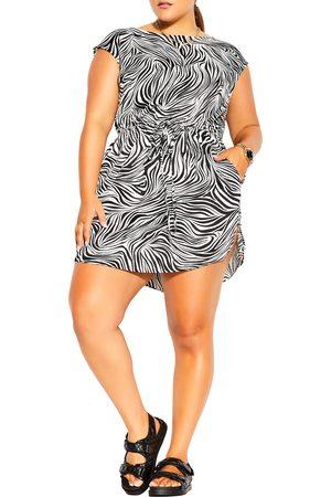 City Chic Plus Size Women's Safari Tunic Dress