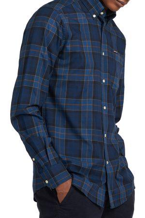 Barbour Men's Wetherham Tailored Fit Plaid Flannel Button-Down Shirt