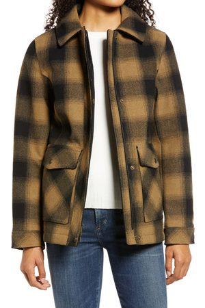 Pendleton Women's Stanford Plaid Wool Blend Zip-Up Jacket