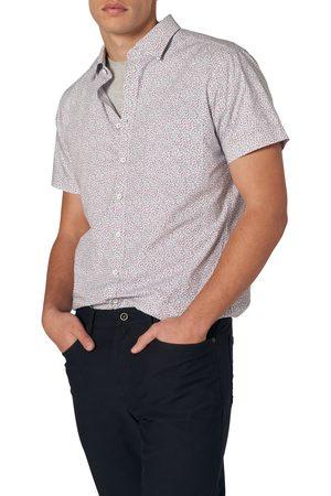 Rodd & Gunn Men's Mount Cargill Sports Fit Floral Short Sleeve Button-Up Shirt