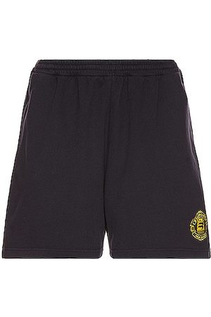 Balenciaga Sweat Shorts in Navy