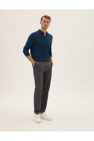 M&S Collection Men Chinos - Regular Fit Stretch Chinos