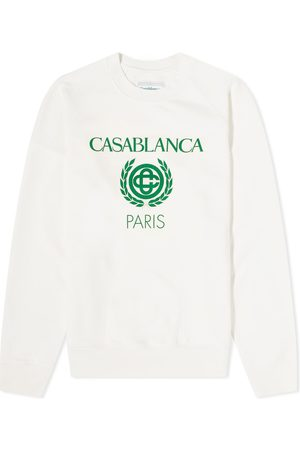 Casablanca Men Sweatshirts - Reverse Loopback Panel Sweatshirt