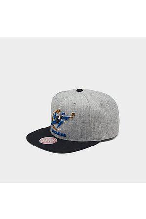 Mitchell And Ness Mitchell & Ness Washington Wizards NBA Heathered Grey Hardwood Classics Pop Snapback Hat Acrylic/Wool