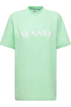 SUNNEI Classic Logo Cotton Jersey T-shirt