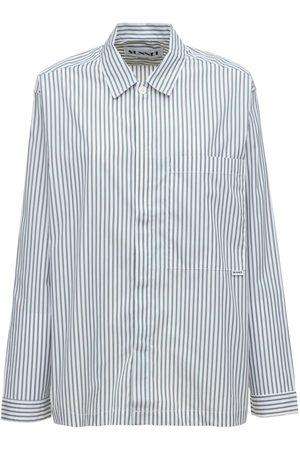 SUNNEI Striped Cotton Poplin Shirt