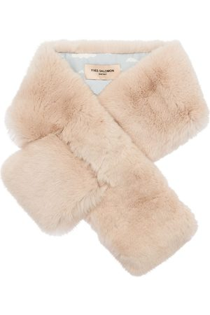 YVES SALOMON ENFANT Girls Scarves - Fur Scarf