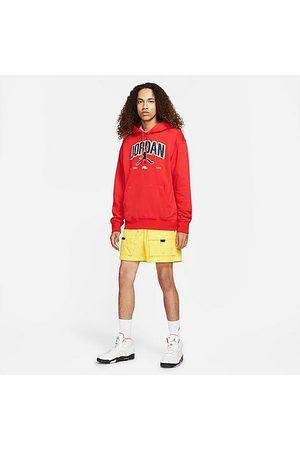 Nike Jordan Jordan Men's Jumpman Fleece Pullover Hoodie in /University Size Small Cotton/Polyester/Fleece