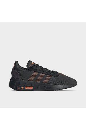 Adidas Men's Originals Geodiver Primeblue Casual Shoes in Grey/Carbon Size 7.5 Plastic