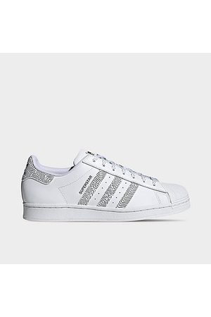 Adidas Men Casual Shoes - Men's Originals Superstar Casual Shoes in / Size 7.5 Leather