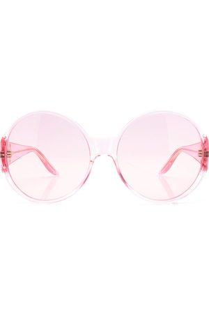 Gucci Women's Acetate Round Frame Sunglasses - /brown - Moda Operandi