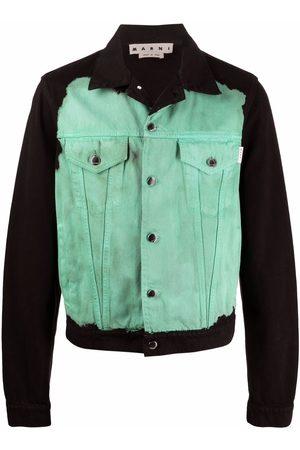 Marni Abstract-print denim jacket