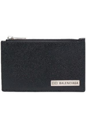 Balenciaga Men Wallets - Logo-plaque cardholder