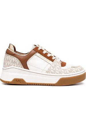Michael Kors Women Sneakers - Lexi monogram-trim sneakers