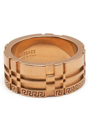 VERSACE Men Rings - Greca-engraved ring