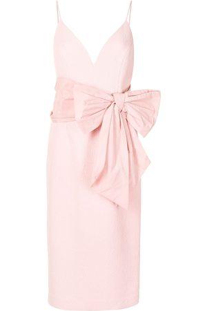 Rebecca Vallance Women Midi Dresses - Monique V-Wired midi dress