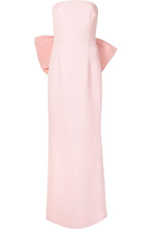Rebecca Vallance Women Strapless Dresses - Rosette Strapless gown