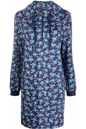 Love Moschino Women Printed Dresses - Floral-print zipped dress