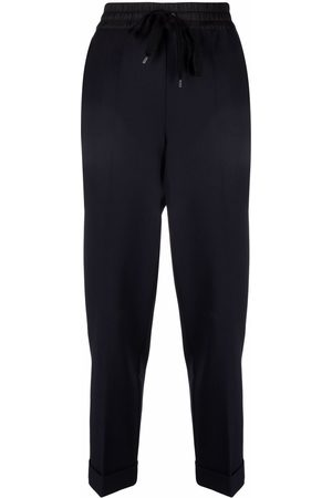 P.a.r.o.s.h. Women Straight Leg Pants - Drawstring-waist trousers
