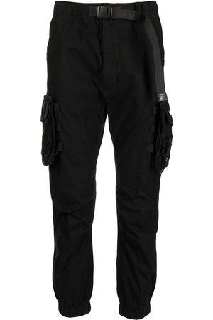Izzue Men Cargo Pants - Tapered-leg cargo trousers