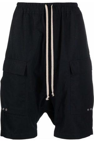 Rick Owens Men Bermudas - Drop-crotch shorts
