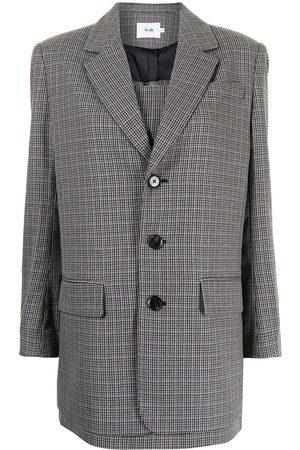 b+ab Layered mini dress - Grey