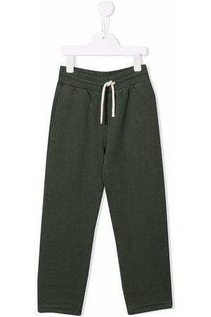 Bonpoint Boys Straight Leg Pants - Drawstring-waist straight trousers