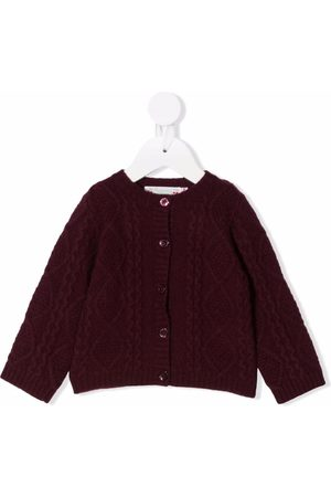 Bonpoint Cable-knitted cardigan