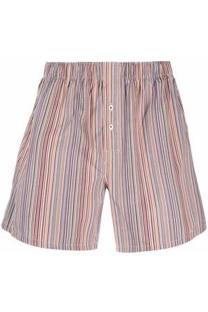 PAUL SMITH Multi-stripe pattern boxers