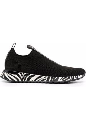 Michael Michael Kors Zebra-print sock-style sneakers
