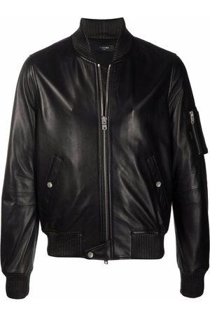 AMIRI Men Leather Jackets - Zip-up leather jacket