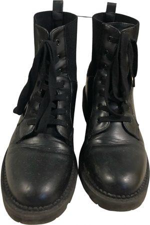 éram Leather lace up boots