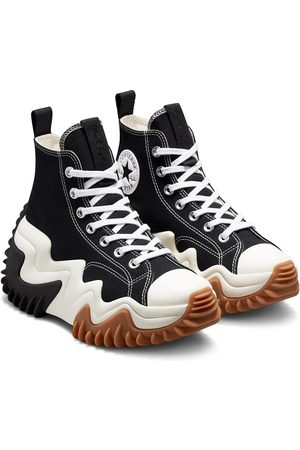 Converse Run Star Motion Hi canvas platform sneakers in