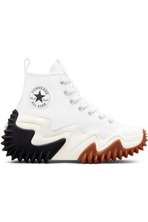 Converse Platform Sneakers - Run Star Motion Hi canvas platform sneakers in