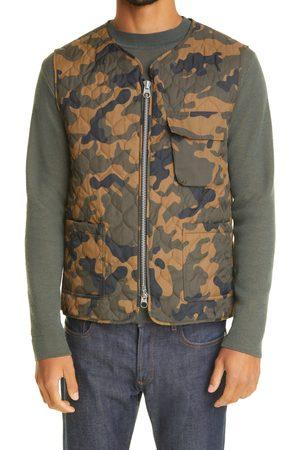 Mackintosh Men's Camo Quilted Nylon Vest