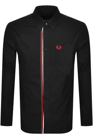 Fred Perry Long Sleeved Taped Placket Shirt