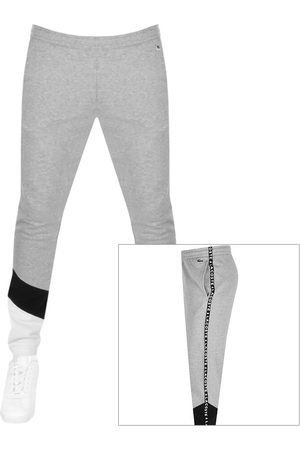 Lacoste Taped Jogging Bottoms Grey