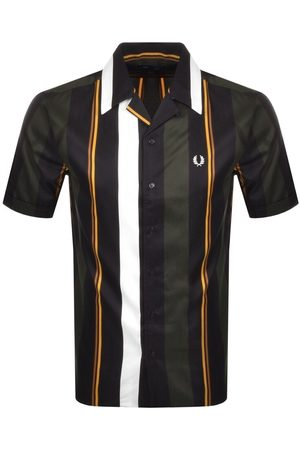 Fred Perry Stripe Short Sleeved Shirt