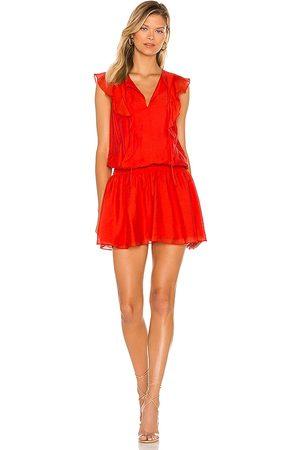 Amanda Uprichard Analena Dress in Red.