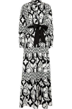 Diane von Furstenberg Long-sleeved printed cotton dress