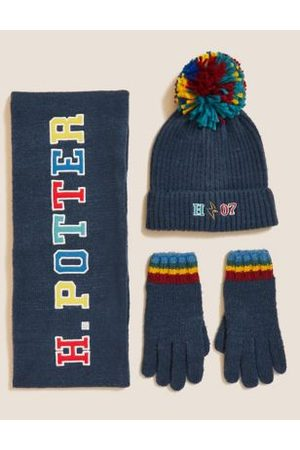 Harry Potter™ Rainbow Hat and Gloves Set (1-13 Yrs)