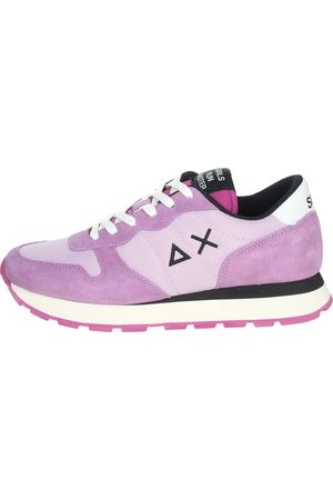 sun68 Sneakers Women Lilac Camoscio/nylon
