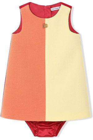 Dolce & Gabbana Baby Casual Dresses - Sleeveless colour-block dress