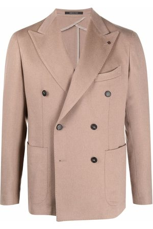 Tagliatore Double-breasted tailored blazer - Neutrals