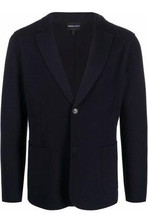 Giorgio Armani Men Blazers - Single-breasted tailored blazer