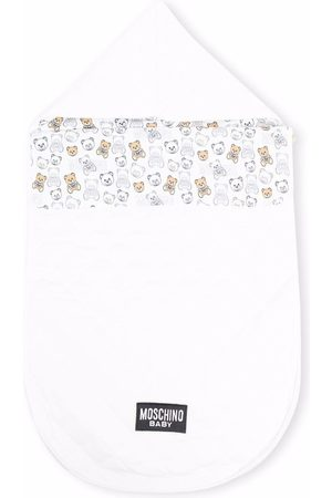 Moschino Kids Sleeping Bags - Teddy bear print sleeping bag