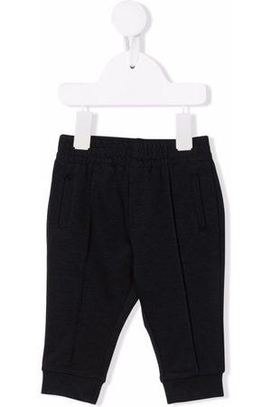 Emporio Armani Kids Rear logo-print trousers