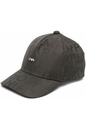 Emporio Armani Kids Boys Caps - Logo-plaque baseball cap