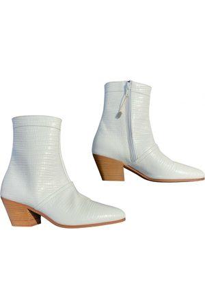 Céline Rodéo leather western boots